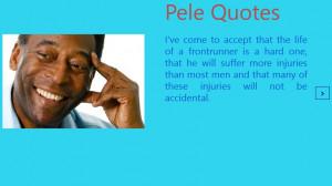 Pele Quotes