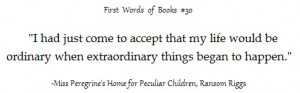 Ransom Riggs, from Miss Peregrine's Home For Peculiar Children