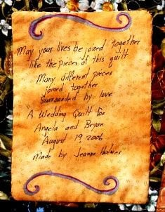 Quilt Label Sayings and Quotes for All Occasions post image