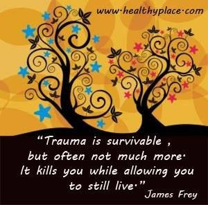 Has trauma, PTSD treatment helped you or do you feel the quote is an ...