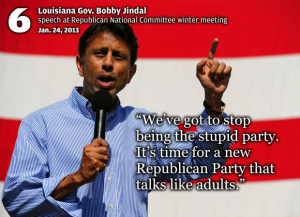 Best Quotes in 2013 Bobby Jindal