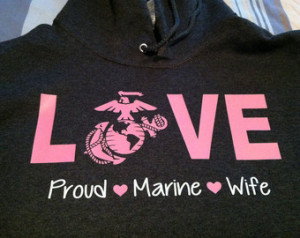 Proud Wife/girlfriend Hoodie ANY BR ANCH ...