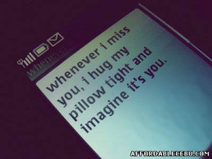 Text Message Quotes in a Cellphone.