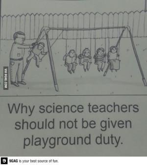 The science teachers