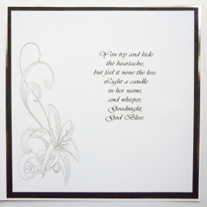 - Condolences Card Messages And Words For The Layout Of This Funeral ...