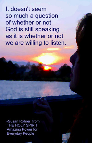 Inspirational quote from Christian book ~ THE HOLY SPIRIT: Amazing ...