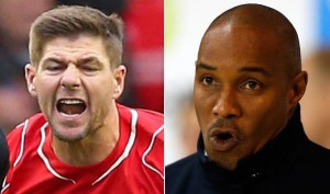 Paul Ince says Gerrard swore at him during a Liverpool training game