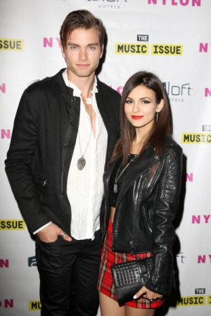 Victoria Justice and her boyfriend Pierson Fode, who have been dating ...