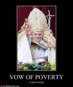 Millions used from UK Foreign Aid budget to pay for Pope's visit