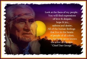 Running 'Cause I Can't Fly: Chief Dan George