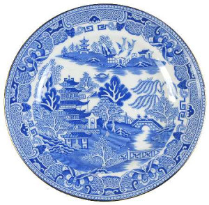 Staffordshire Blue Willow China