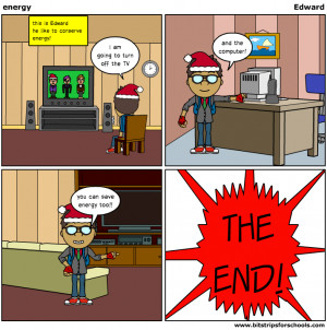 Energy Conservation Comic Challenge Inspires Kids to Conserve ...