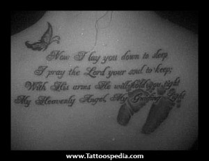 Baby Loss Tattoo Quotes Miscarriage memorial tattoo