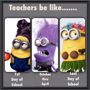 If Teachers Were Minions