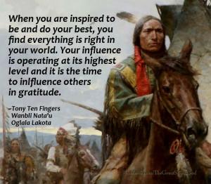 ... spirituality, native american quotes, quote on success, gratitude