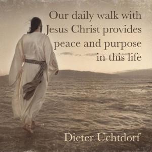 Daily walk with Jesus Christ #LDSConf #saviorjesuschrist