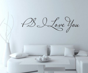 LOVE-YOU-Vinyl-Art-Mural-Wall-Quote-Expressions-decals-Wall ...