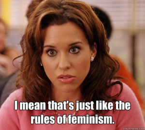 Gretchen Weiners from Mean Girls quote – quickmeme.com