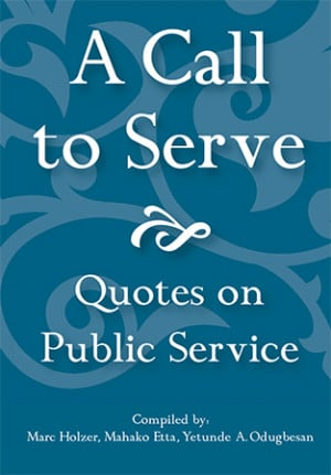 Call to Serve: Quotes on Public Service