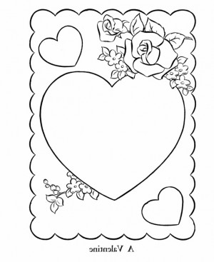 Valentine S Day Printable Coloring Pages Free Printable Coloring