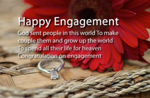 Happy Engagement Wishes Sms