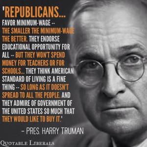 President Truman quote.