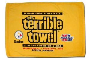 steelers terrible towel tags football pittsburgh steelers nfl