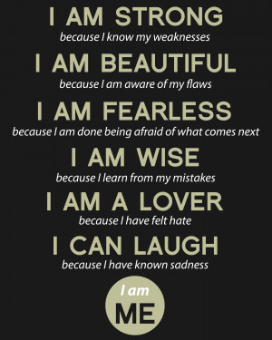 Quote-I am Strong-01