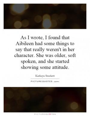 Kathryn Stockett Quotes