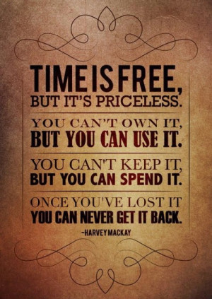 Free Time Sayings About Time