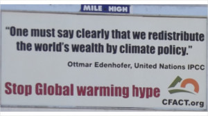 We Redistribute World's Wealth By Climate Policy,' says whistle ...