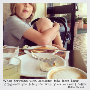 Such truth! Double that when traveling with kids! The good news was ...