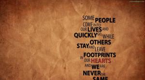 Footprint Quotes