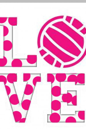 love volleyball and couldn't live without it