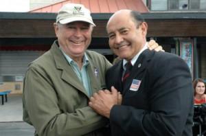 Dana Rohrabacher and Lou Correa