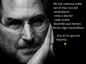 Steve Jobs, Spanish Quotes