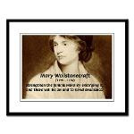 Mary Wollstonecraft: Feminism Fr. Poster