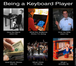 being a player