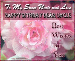 Happy Birthday Quotes for Uncle