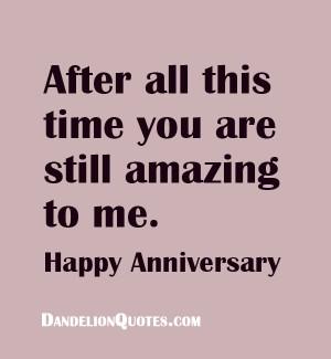 Sweet Wedding Anniversary Quotes - Happy Anniversary Quote