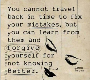 dont learn from my mistakes!!!