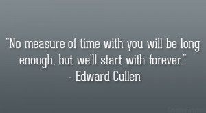 28 Memorable Edward Cullen Quotes