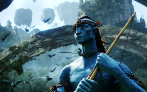Download Jake Sully - Avatar wallpaper