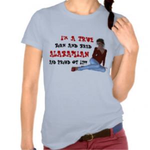Alabama Alabamian Humor Funny State T-Shirt