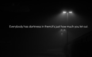 dark evil quote light mood bokeh wallpaper background
