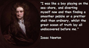isaac newton famous quotes