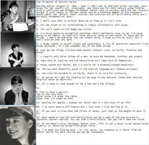 Top 20 Quotes of Dorothy Parker - Listverse