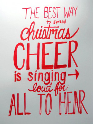 Christmas Cheer Elf Movie Quote by RepeteLove on Etsy, $12.00