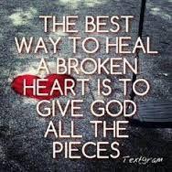 Let God heal you!