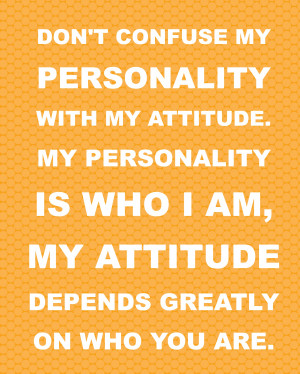Fun Personality Quotes Free printable quotes